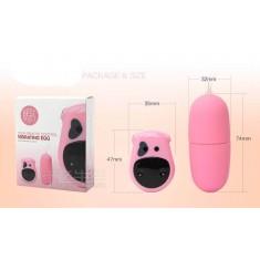 Ovetto vibrante Wireless rosa