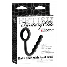 Anello Pene Ball Cinch With Anal Bead