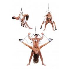 Altalena DellAmore FF Fantasy Bondage Swing White