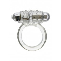 Anello vibrante bianco con set di 3 anelli bianco