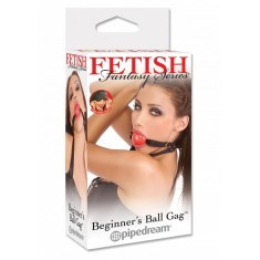 Ff Beginner's Ball Gag - Red