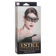 Maschera Veneziana Mystique Mask Black