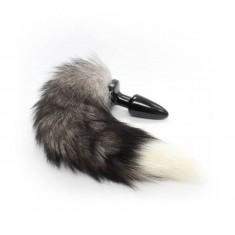 Plug Anale con Coda Long Funny Tail