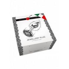 Plug anal argento Large 12 cm
